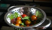 Peulen en tomaten
