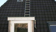 Ladder naar ontluchtingskanalen
