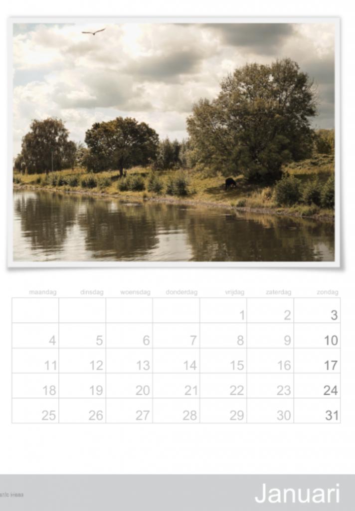 Kalender Nederlandschappen